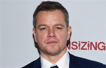 Matt Damon reveló que su hija mayor estuvo contagiada de coronavirus