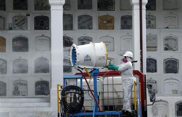 Cementerios no están listos para incremento de muertos por COVID-19