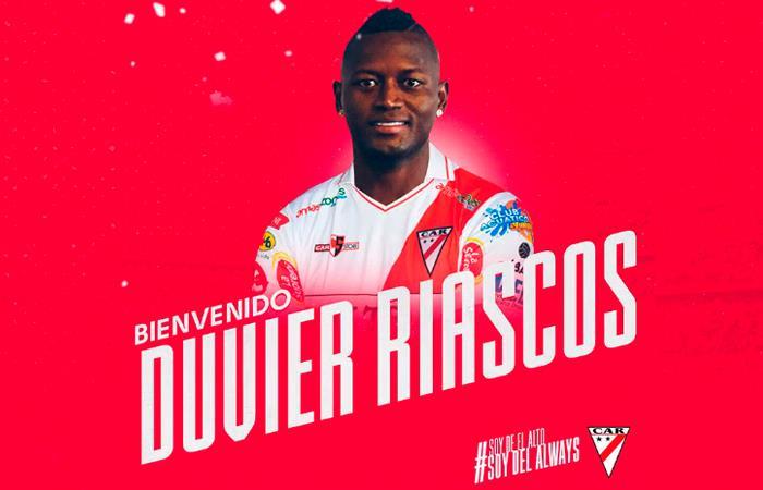 Duvier Riascos fue despedido de Always Ready. Foto: Facebook