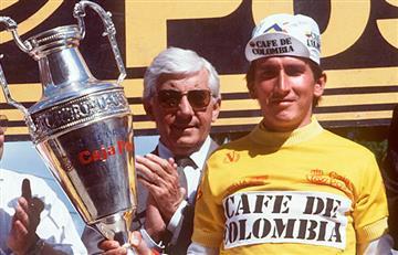 [VIDEO] Para llorar... Así ganó 'Lucho' La Vuelta en 1987