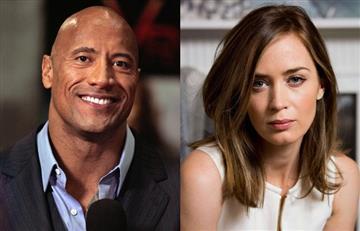 Dwayne Johnson y Emily Blunt se convertirán en los nuevos superhéroes de Netflix