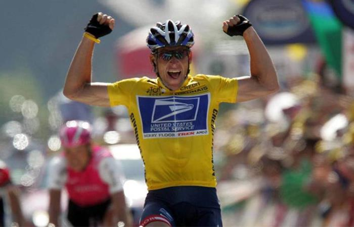 Lance Armstrong fue suspendido de por vida por doping. Foto: Twitter