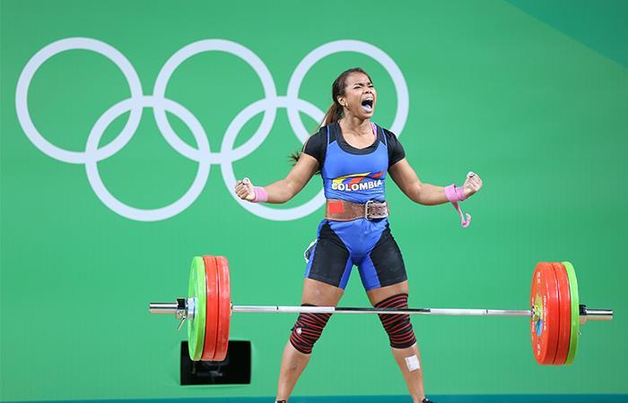 Leidy Solís ganó una medalla en los Juegos Olímpicos de 2008. Foto: Twitter