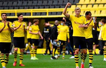 Con goleada de Borussia Dortmund inició la Bundesliga