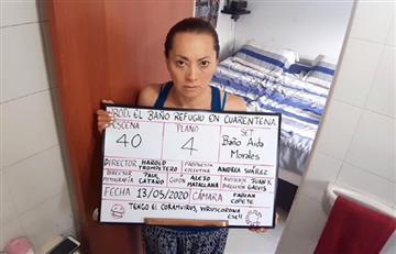 """""""El baño"""", la nueva película colombiana filmada con celulares en cuarentena"""