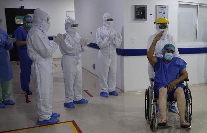 Jorge salió de la clínica el pasado 18 de mayo. (). Foto: EFE