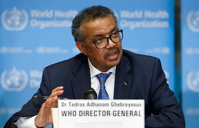 El director general de la OMS es blanco de críticas. Foto: EFE