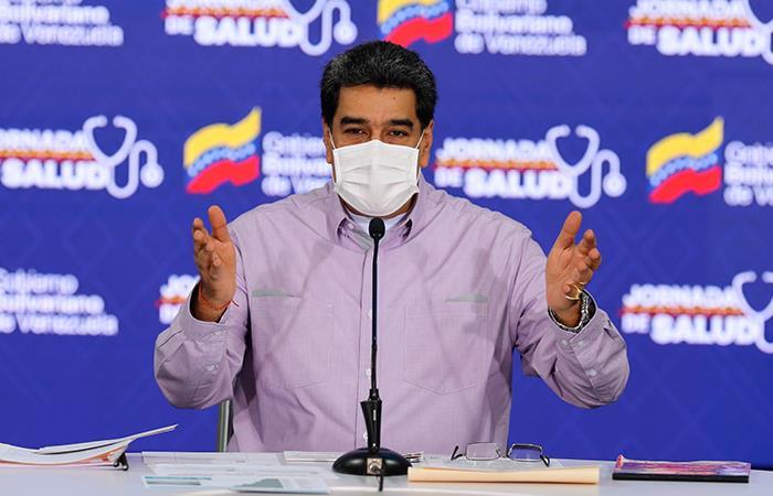 Maduro decretó la cuarentena en Venezuela el 17 de marzo. Foto: EFE