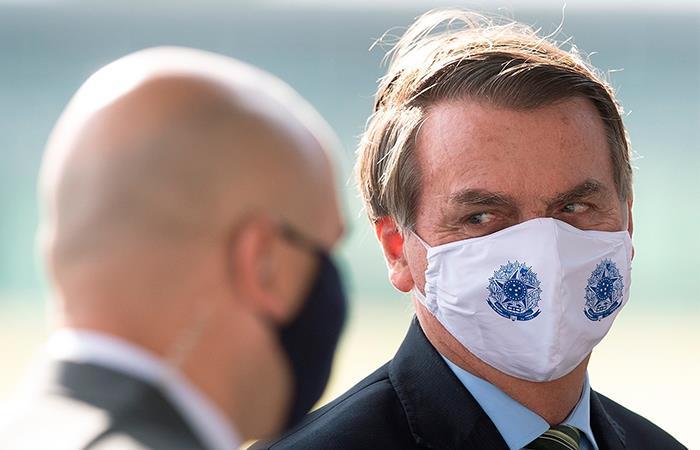 Jair Bolsonaro ha sido criticado por su manejo de la pandemia. Foto: EFE