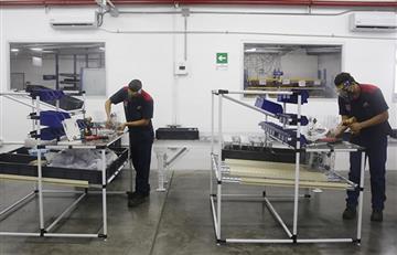 Medellín produce ventiladores para enfermos del Covid-19