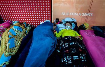 Cerca de 200 colombianos atrapados en Brasil piden ayuda para regresar al país