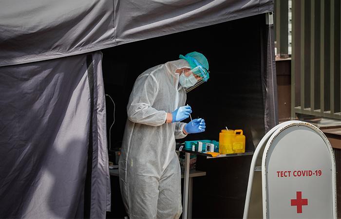 Rusia es el tercer país más afectado por el coronavirus. Foto: EFE