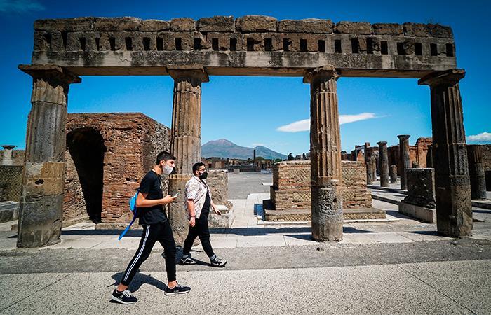 Italia espera recuperar la gran cantidad de turistas que tenía antes de la pandemia. Foto: EFE