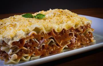 Fácil receta para preparar lasagna de carne