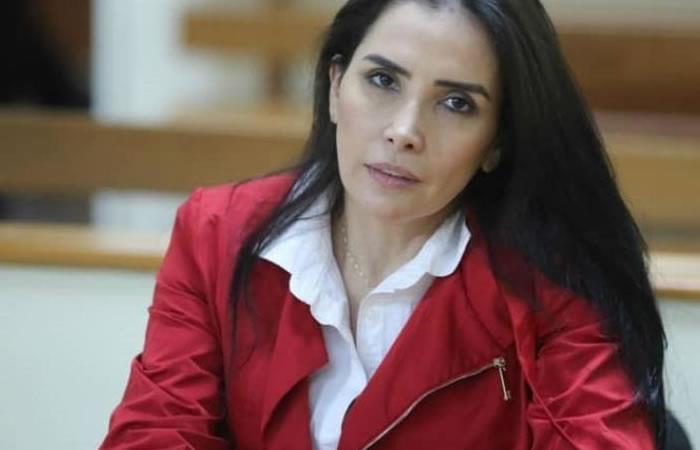 La excongresista fue capturada en Venezuela. Foto: EFE