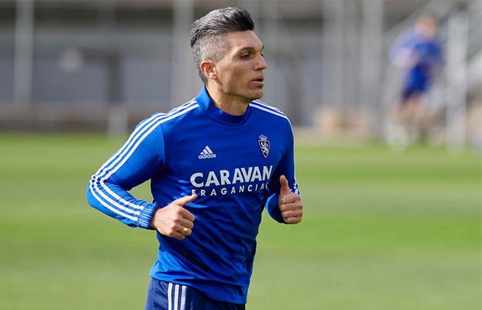 Daniel Torres llegó hace poco a Real Zaragoza. Foto: Twitter