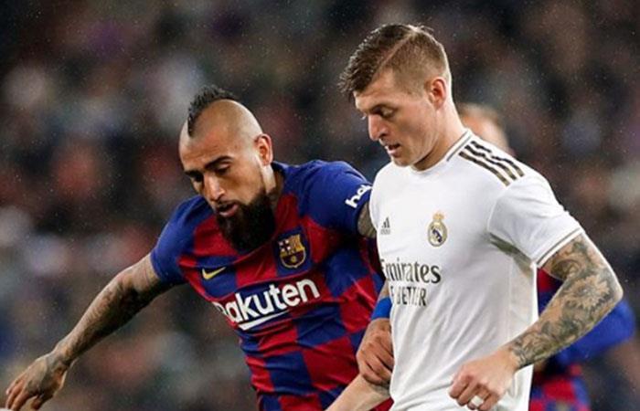Barcelona y Real Madrid luchan por el título. Foto: Instagram