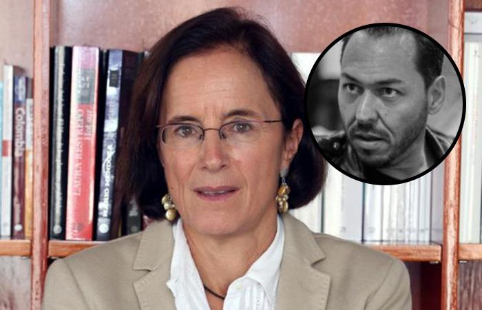 Salud Hernández criticó el pasado del famoso periodista de izquierda en Colombia. Foto: Twitter