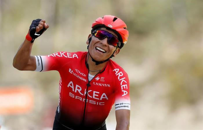Nairo confirmó las carreras que disputará previo al Tour de Francia. Foto: EFE