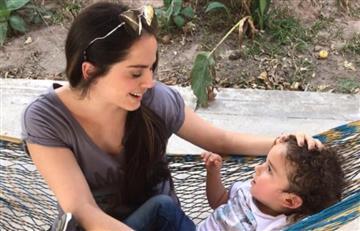Nostálgico video de Danna García reencontrándose con su hijo tras superar el coronavirus