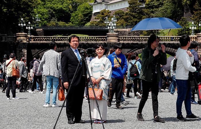 Japón está promoviendo la reactivación del turismo luego de la pandemia. Foto: EFE