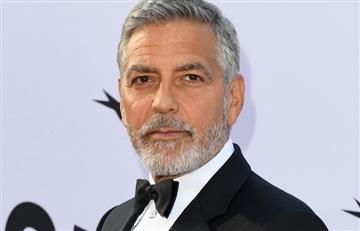 """""""El racismo es la pandemia de Estados Unidos"""": George Clooney"""