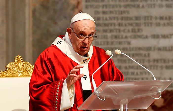 El Papa Francisco rezó por el alma de George Floyd. Foto: EFE