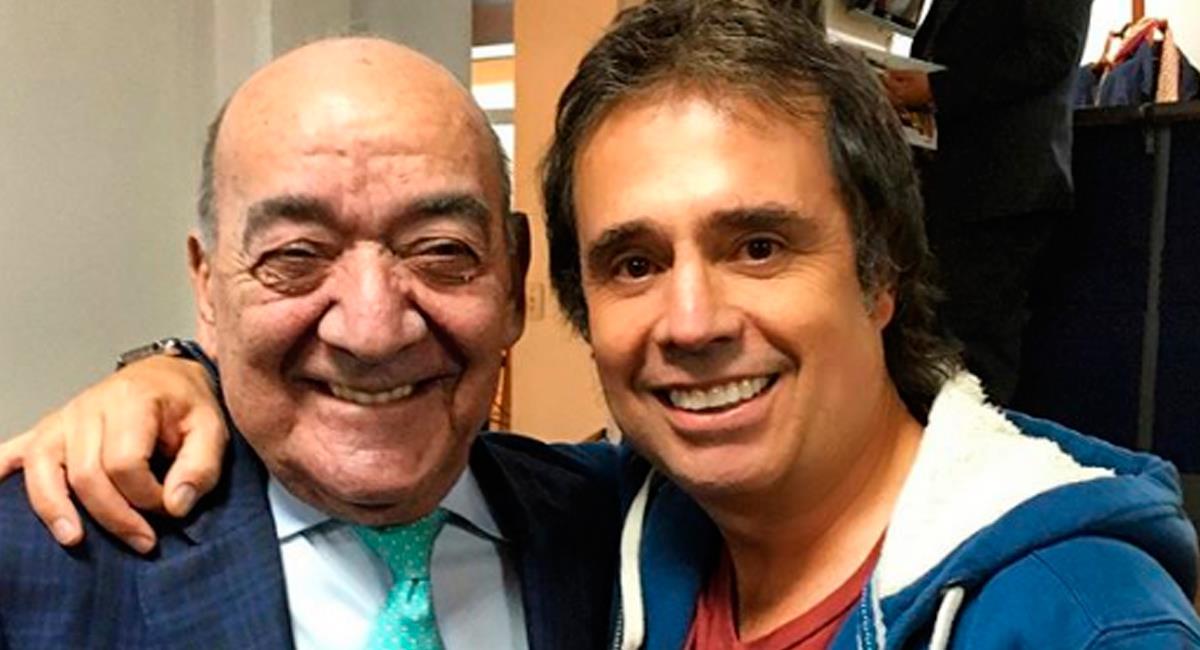 César Augusto Londoño, periodista deportivo. Foto: Instagram
