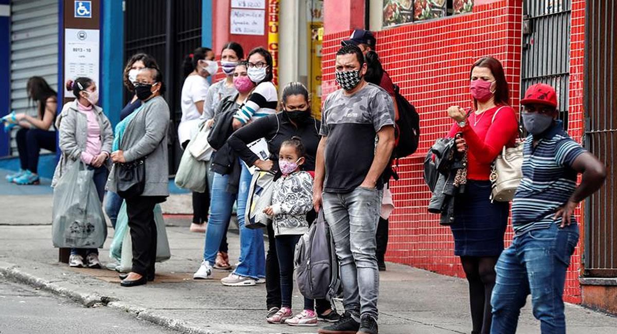 Bogotá, Cali y Cartagena son los que más contagios reportan. Foto: EFE