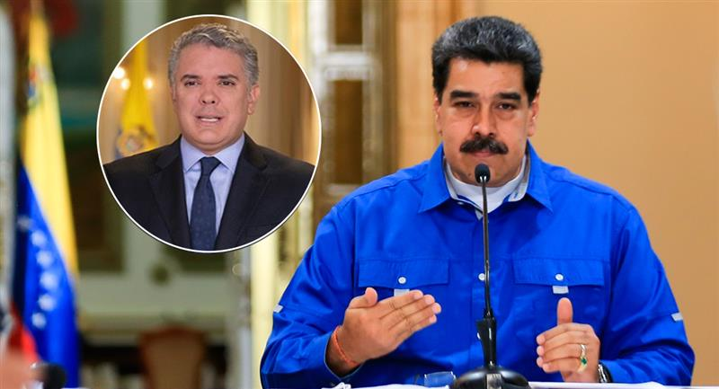 Inculpa Maduro a Iván Duque de supervisar estrategia militar contra Venezuela