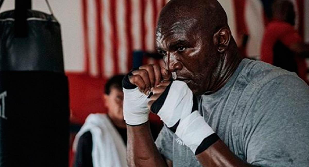 Evander Holyfield, exboxeador estadounidense. Foto: Instagram