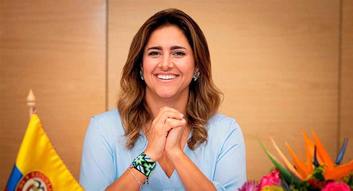 Maria Juliana Ruiz ya se había reunido con el Papa en 2019. Foto: Twitter