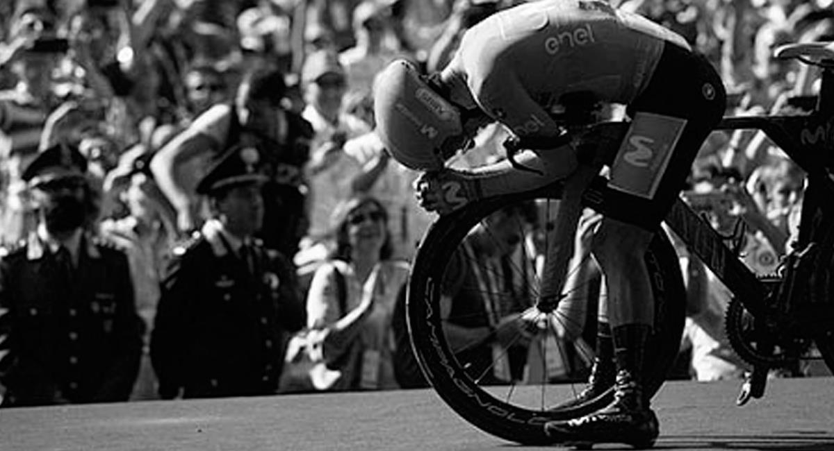 Richard Carapaz, ciclista ecuatoriano. Foto: Instagram