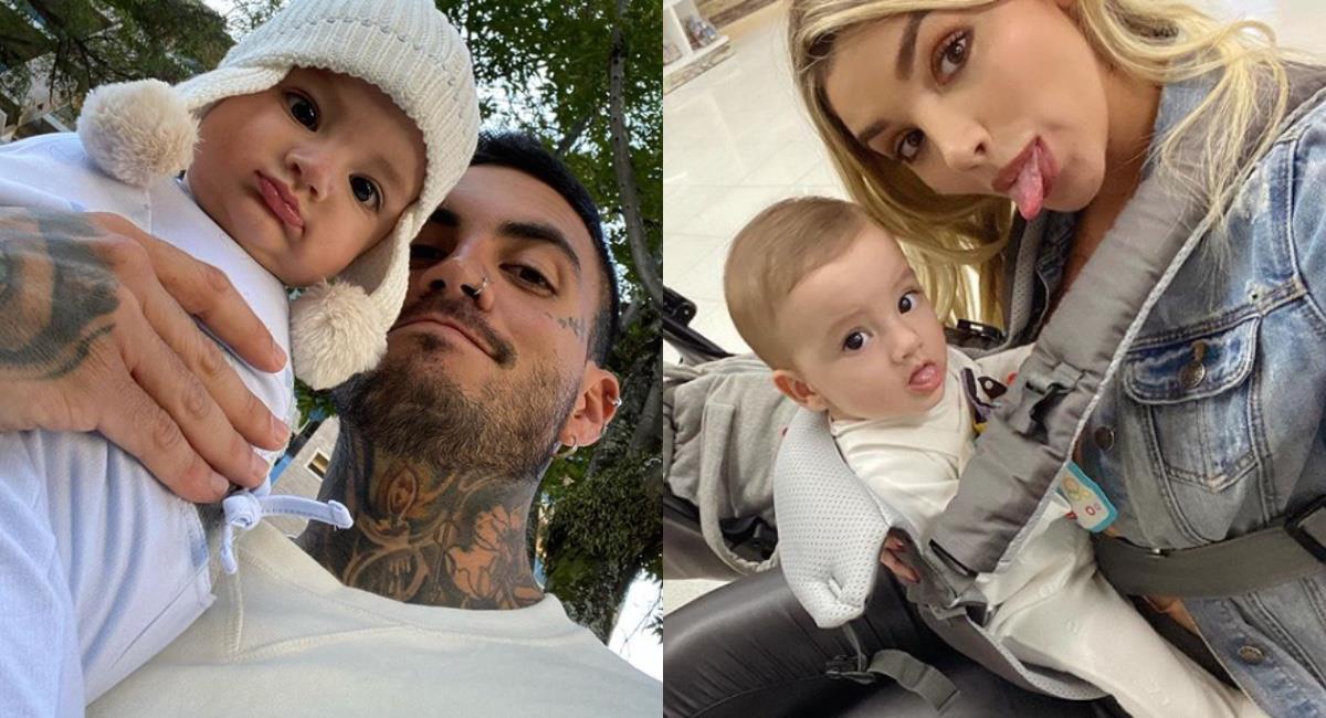 Mateo y Melina compartieron el video en sus redes. Foto: Instagram