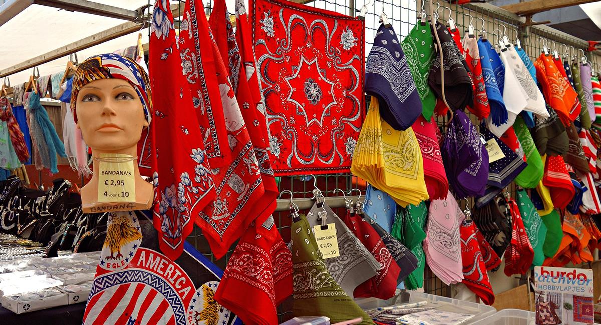 Las bandanas vuelven a la industria de la moda. Foto: Pixabay