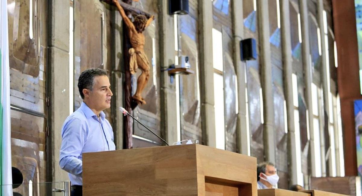 Aníbal Gaviria, gobernador destituido de Antioquia. Foto: Twitter