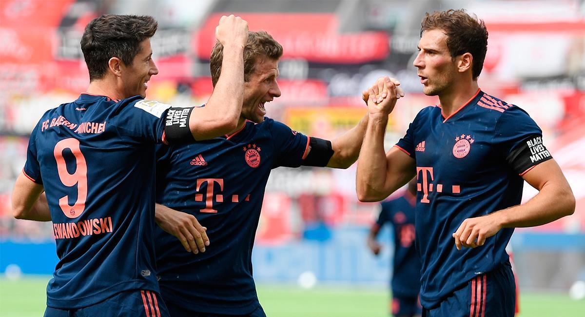 Muller y Lewandowski siguen brillando con Bayern Munich. Foto: EFE