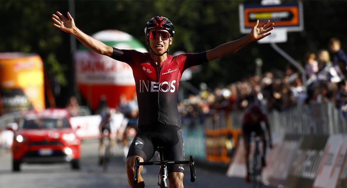Egan Bernal buscará conquistar el Tour de Francia, La Vuelta a España y el Giro de Italia. Foto: Twitter