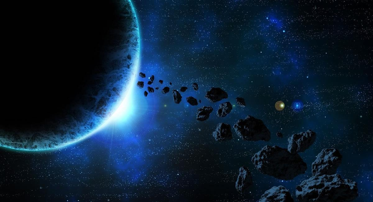No todos los asteroides 'vienen en bombas'. Foto: Pixabay