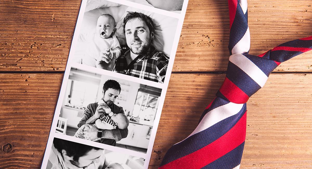 Aprende a hacer algunos portarretratos para papá. Foto: Shutterstock
