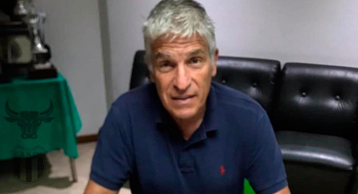Omar Labruna hizo una gran confesión en vivo y en directo. Foto: Prensa Nueva Chicago