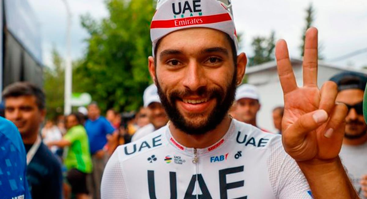 Fernando Gaviria será el capo de su equipo en el Giro de Italia. Foto: Prensa Team Emirates