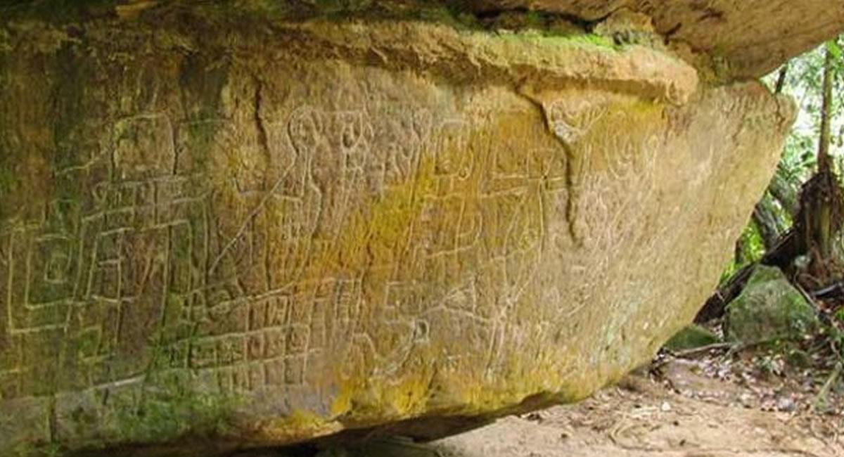 No puedes viajar a Caquetá, sin conocer estos petroglifos. Foto: Caqueta.travel.com