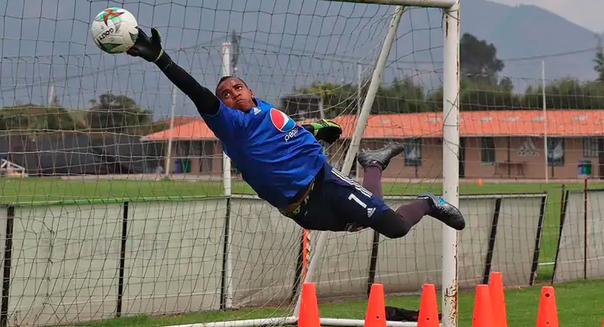 Wuilker Faríñez se va al fútbol francés. Foto: Prensa Millonarios