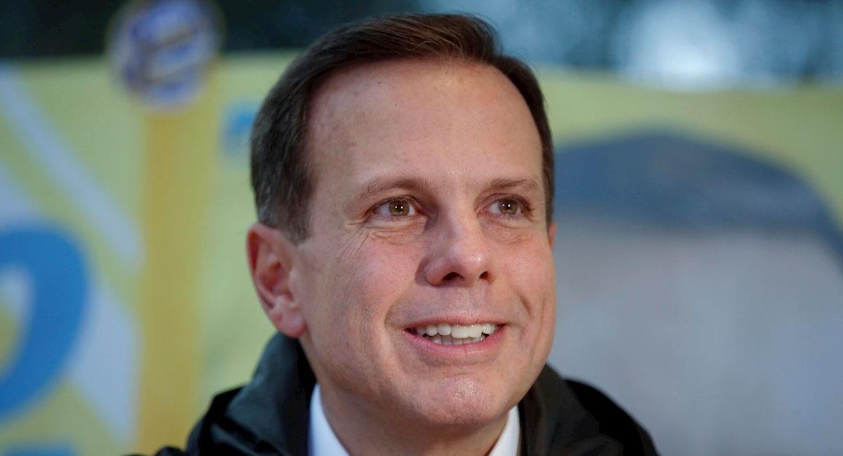 El gobernador del estado brasileño de Sao Paulo, João Doria. Foto: EFE