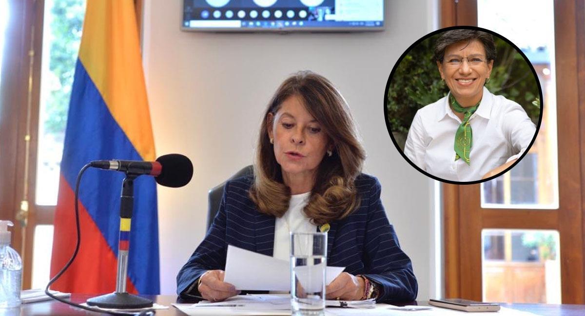 Marta Lucía Ramírez y Claudia López siempre han mostrado sus diferencias políticas en Colombia. Foto: Twitter