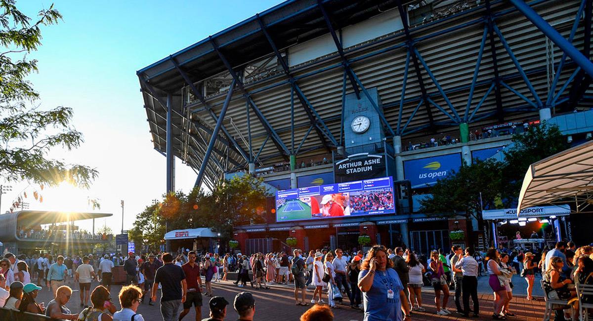 El US Open se jugaría sin grandes figuras. Foto: Prensa US Open 2020