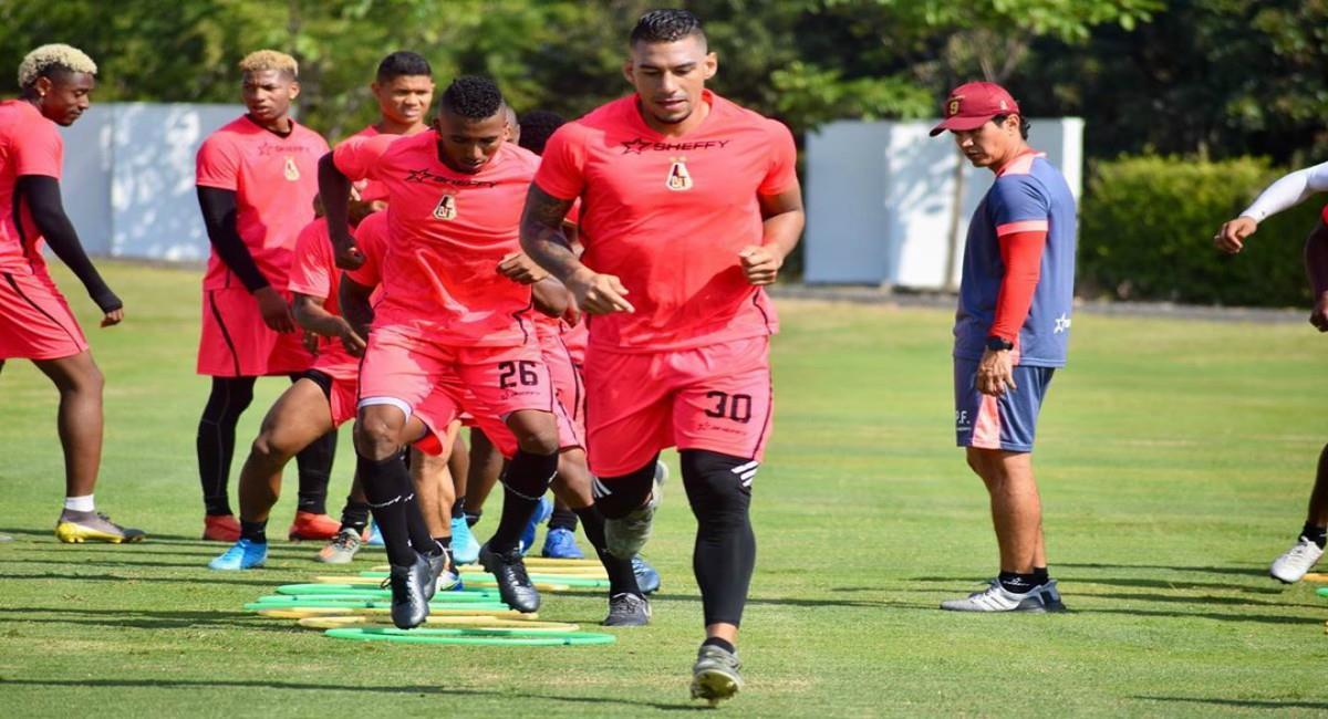 Autorizan entrenamientos individuales. Foto: Instagram Prensa redes Deportes Tolima