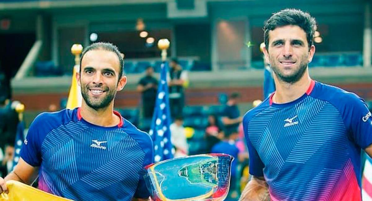Cabal y Farah están esperando la decisión del US Open 2020 para saber si participan en el certamen. Foto: Prensa Fedecoltenis