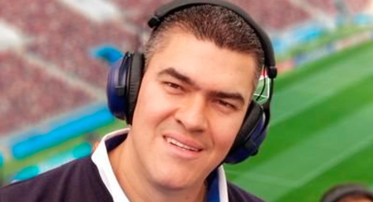 Eduardo Luis, periodista de Win Sports. Foto: Twitter